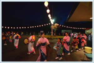 盆踊り花火大会
