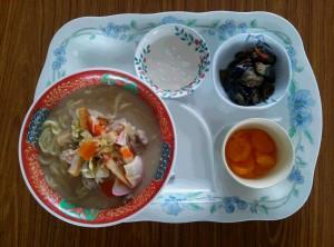 ちゃんぽん普通食2