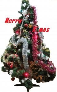 クリスマスツリー加工
