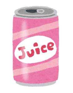 ジュース缶